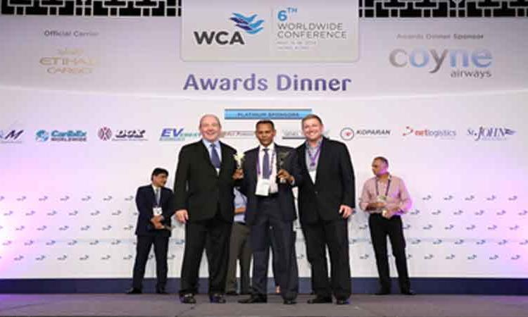 WCA WORLDWIDE TOP AGENT AWARD – 2013