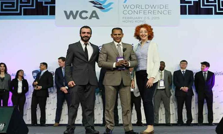 WCA BEST MIDDLE EAST AGENT AWARD – 2014